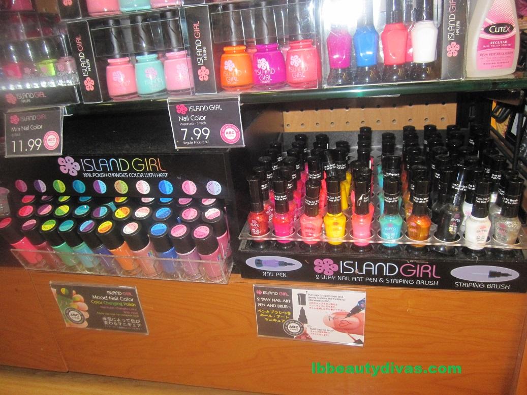 Island Girl nail polish #3 | LB BEAUTY DIVAS
