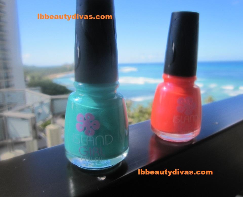 Island Girl Nail polish | LB BEAUTY DIVAS
